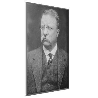 TEDDY ROOSEVELT Portrait by George Grantham Bain Canvas Print