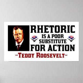 Teddy Roosevelt Póster