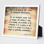 Teddy Roosevelt Quote Photo Plaques