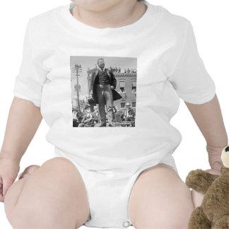 Teddy Roosevelt Speaks Vintage 1905 President Baby Bodysuit