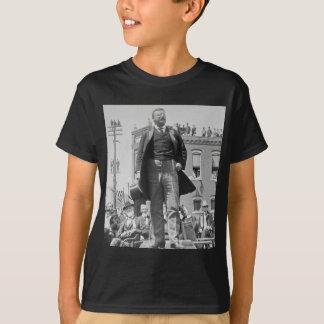 Teddy Roosevelt Stereoview Card 1905 Vintage Shirt