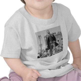 Teddy Roosevelt Stereoview Card 1905 Vintage T Shirt
