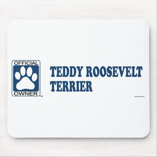 TEDDY ROOSEVELT TERRIER_Blue Alfombrilla De Ratón