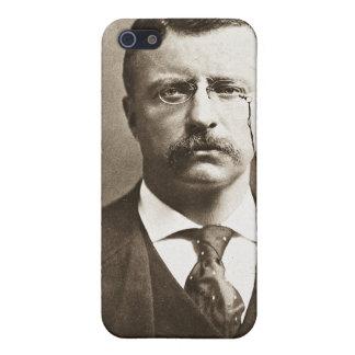 Teddy Roosevelt Vintage Glass Magic Lantern Slide Case For iPhone SE/5/5s