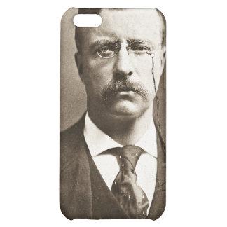 Teddy Roosevelt Vintage Glass Magic Lantern Slide Cover For iPhone 5C