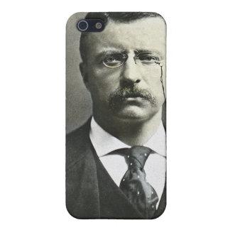 Teddy Roosevelt Vintage Glass Magic Lantern Slide Cases For iPhone 5