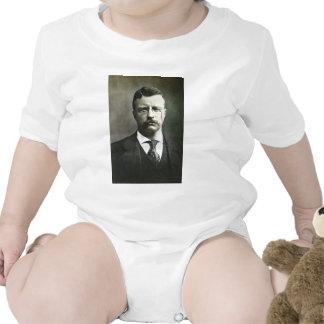 Teddy Roosevelt Vintage Glass Magic Lantern Slide T-shirt