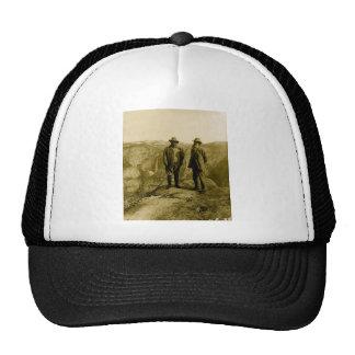 Teddy Roosevelt y John Muir en el punto del Gorras