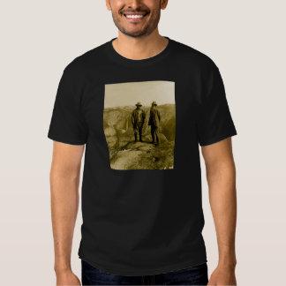 Teddy Roosevelt y John Muir en el punto del Playera