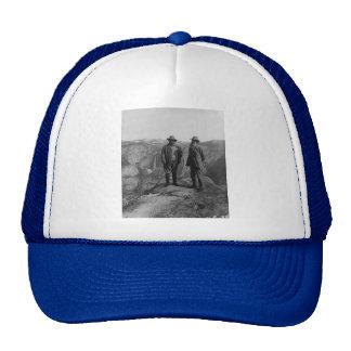 Teddy Roosevelt y John Muir en Yosemite Gorras