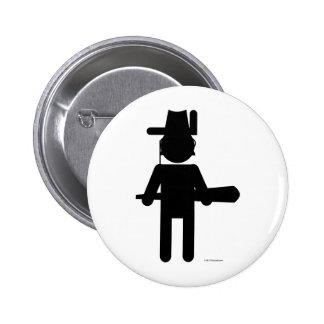 Teddy Roosvelt Pinback Button