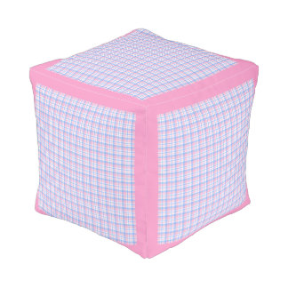 Teddy Tickles Cube Pouf