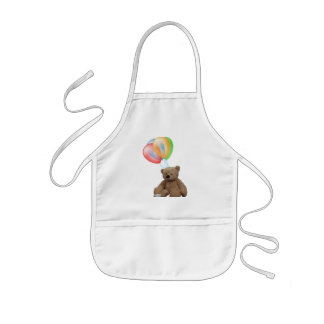 Teddy Time for Tea childs apron. Kids' Apron