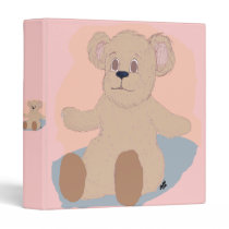 Teddy Wants a Hug Binder