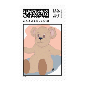 Teddy Wants a Hug Stamp