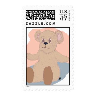 Teddy Wants a Hug Stamp