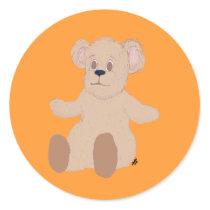 Teddy Wants a Hug Stickers