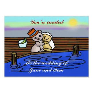 Teddy Wedding Invites