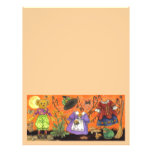 Teddy Witch large stationery Letterhead
