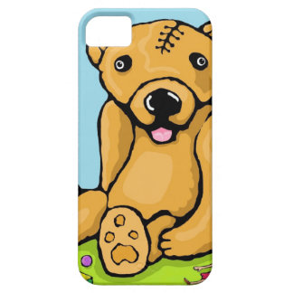 Teddy with a lobotomy iPhone SE/5/5s case