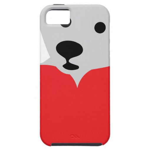 teddy with red heart iPhone 5 covers
