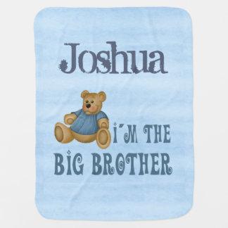 Teddybear Big Brother Swaddle Blanket