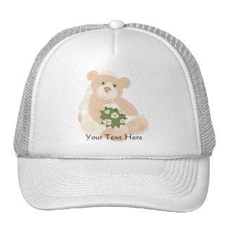 Teddybear Bride Hat