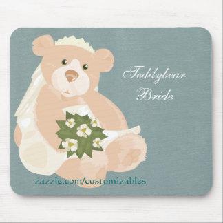 Teddybear Bride Mousepad