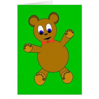 teddybear card