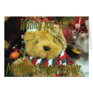 TeddyBear Christmas-customize Card
