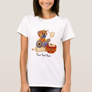 TeddyBear Cook (personalized) T-Shirt