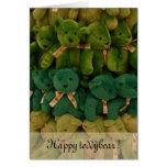¡Teddybear feliz! Tarjetas