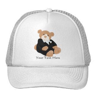 Teddybear Groom Hat