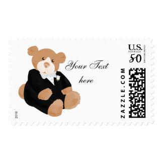 Teddybear Groom Postage