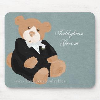 Teddybear GroomMousepad Mouse Pad