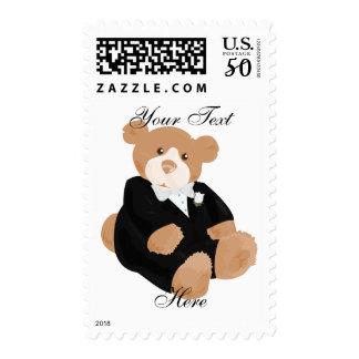 Teddybear GroomPostage Postage