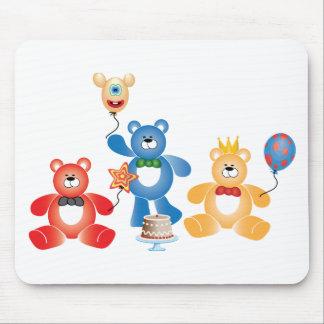 Teddybear Party Mousepad
