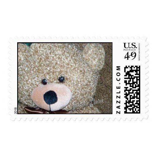 TeddyBear rizado Sello