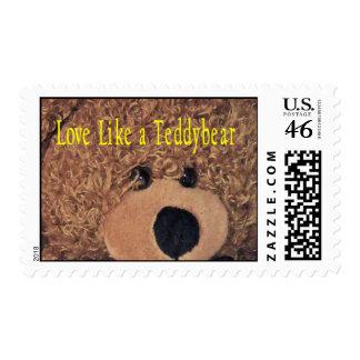 Teddybear stamp