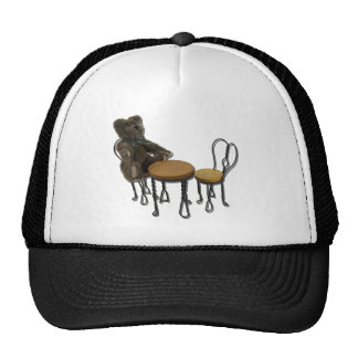 TeddyBearBistroSetting090411 Trucker Hat