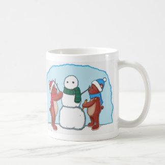 Teddybears and Snowman Mug