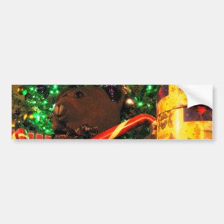 Teddys Christmas II Bumper Sticker