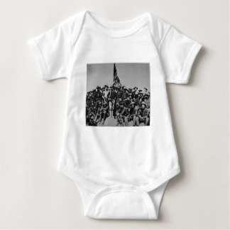 Teddy's Colts Teddy Roosevelt Rough Riders 1898 Baby Bodysuit