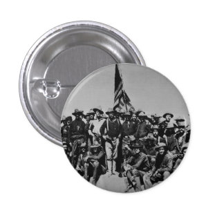 Teddy's Colts Teddy Roosevelt Rough Riders 1898 Pinback Button