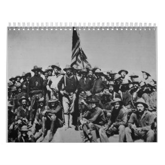 Teddy's Colts Teddy Roosevelt Rough Riders 1898 Calendar
