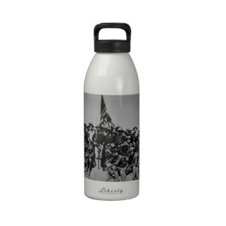 Teddy's Colts Teddy Roosevelt Rough Riders 1898 Reusable Water Bottle
