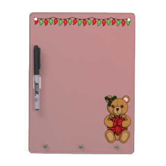 Teddy's Gift Dry Erase Board