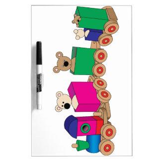 Teddy's Train Ride. Dry Erase Boards