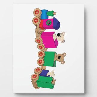 Teddy's Train Ride. Display Plaques