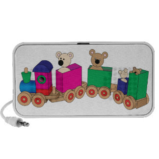 Teddy's Train Ride. Notebook Speakers